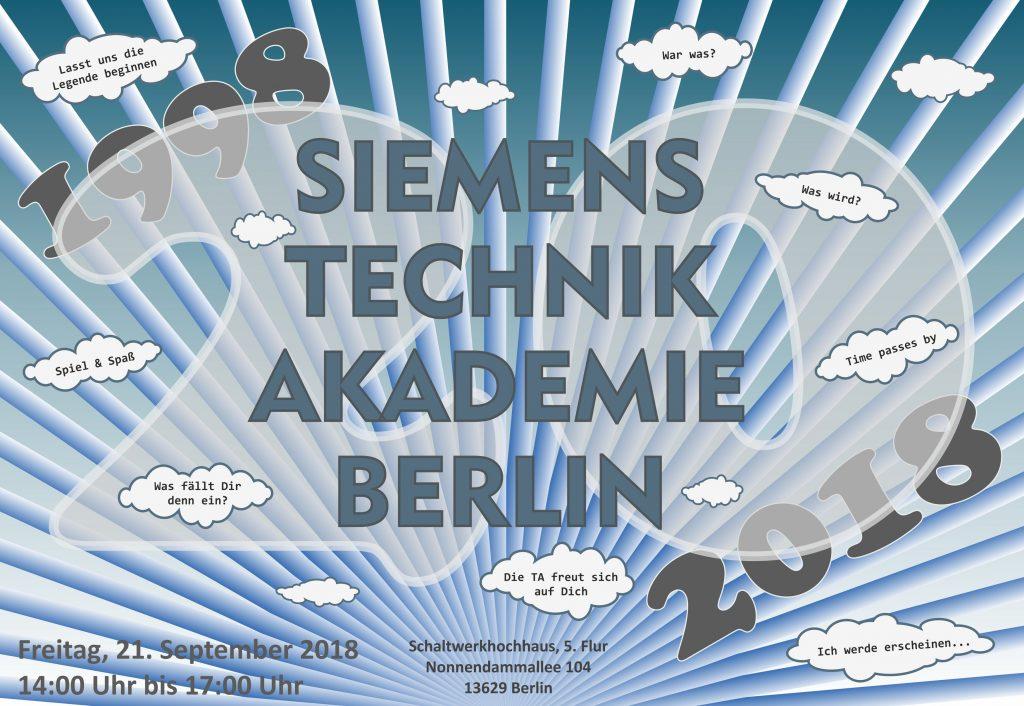 20 Jahre Siemens Technik Akademie Berlin